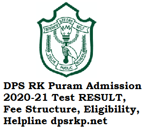 DPS RK Puram Admission 2020-21 Registration Form, Eligibility, Fee